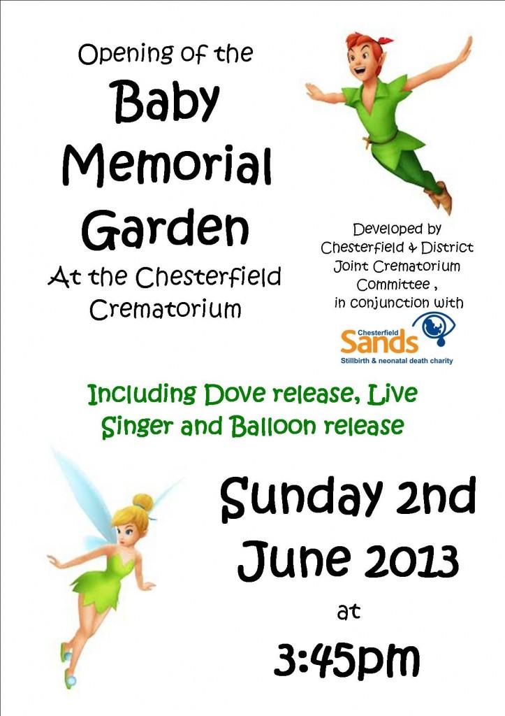 Baby Memorial Garden Poster